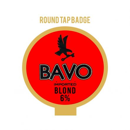 Huyghe Bavo Blond Tap Badge