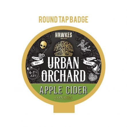 Hawkes Urban Orchard Tap Badge