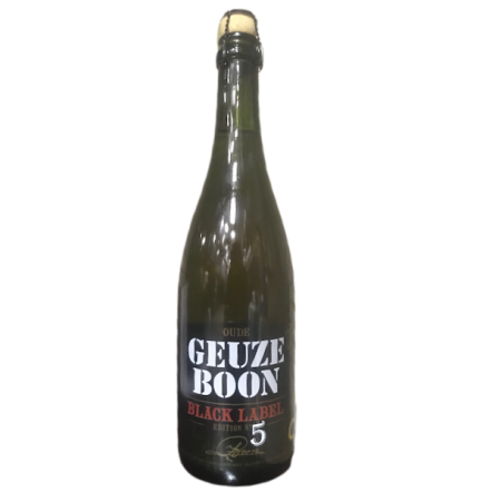 Boon Gueuze Black Label v5