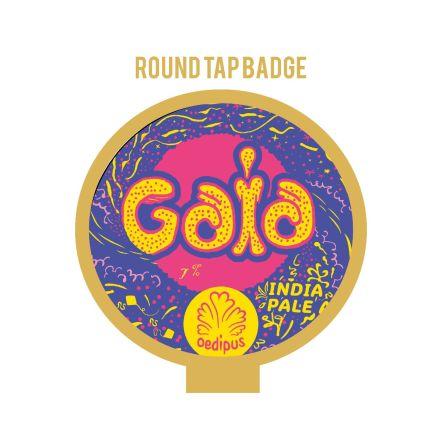 Oedipus Gaia Tap Badge