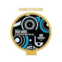Magic Rock High Wire Tap Badge