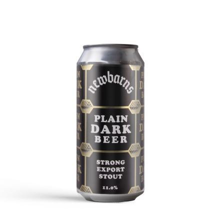 Newbarns Brewery Plain Dark Beer