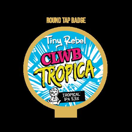 Tiny Rebel Clwb Tropica Tap Badge