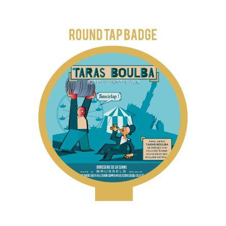 De la Senne Taras Boulba Tap Badge